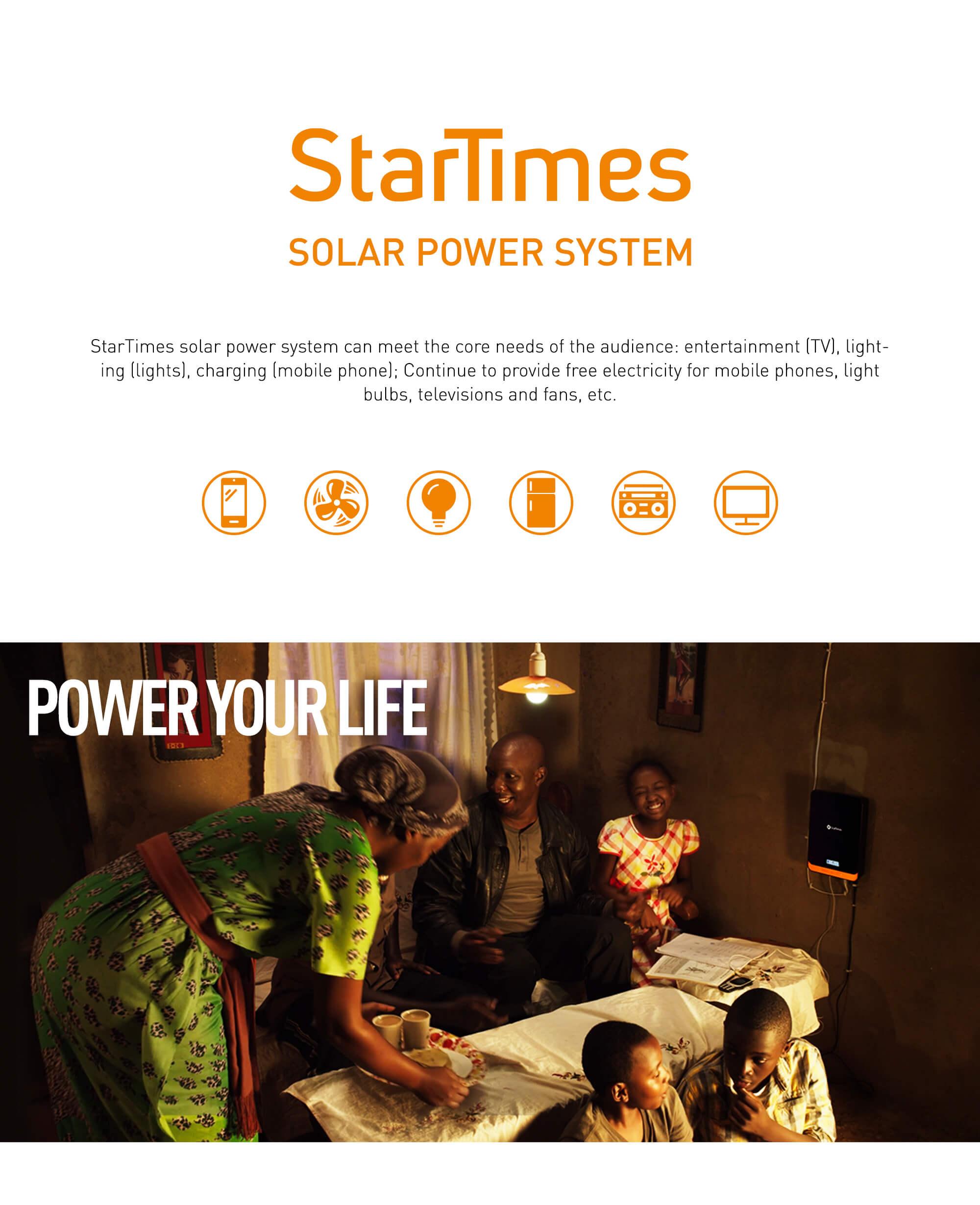 Solar Power System - StarTimes